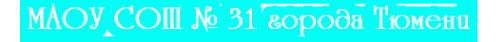 Логотип компании Средняя общеобразовательная школа №15