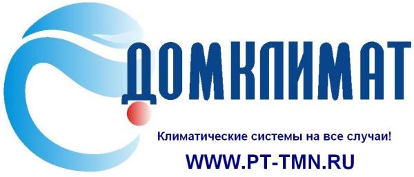 Логотип компании ДОМКЛИМАТ